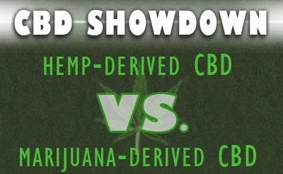 Hemp CBD VS. Cannabis CBD products.