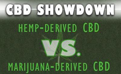 Hemp CBD VS. Cannabis CBD products.